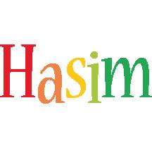 Hasim birthday logo
