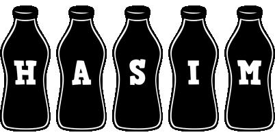 Hasim bottle logo