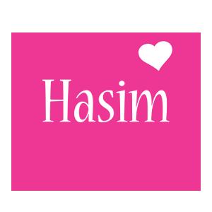Hasim love-heart logo