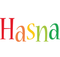 Hasna birthday logo