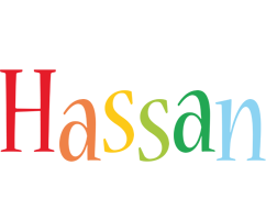 Hassan birthday logo