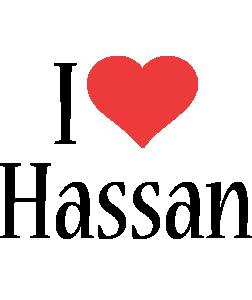 Hassan i-love logo