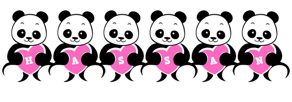 Hassan love-panda logo