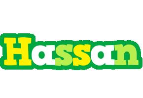 Hassan soccer logo