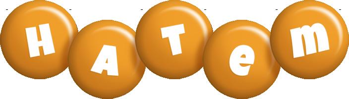Hatem candy-orange logo