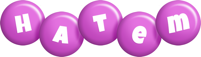 Hatem candy-purple logo