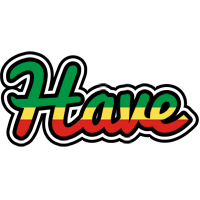 Have african logo
