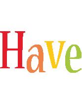 Have birthday logo
