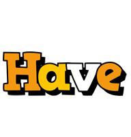 Have cartoon logo