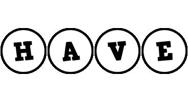 Have handy logo