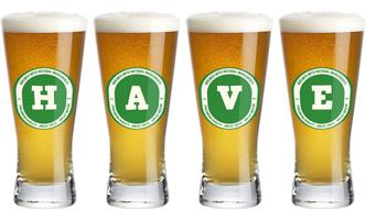 Have lager logo