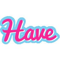 Have popstar logo