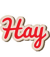 Hay chocolate logo