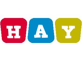 Hay daycare logo