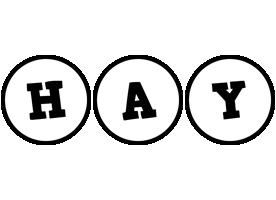 Hay handy logo
