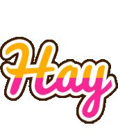 Hay smoothie logo