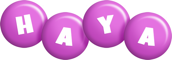 Haya candy-purple logo