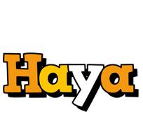 Haya cartoon logo