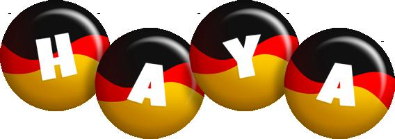 Haya german logo