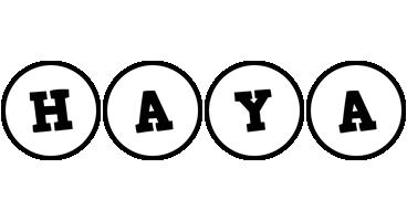 Haya handy logo