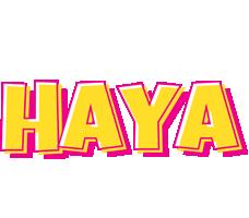 Haya kaboom logo