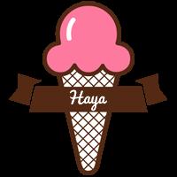 Haya premium logo