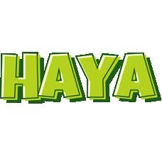 Haya summer logo