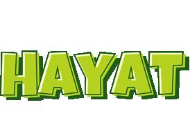 Hayat summer logo