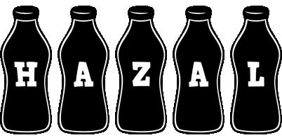 Hazal bottle logo