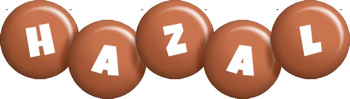 Hazal candy-brown logo