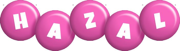 Hazal candy-pink logo