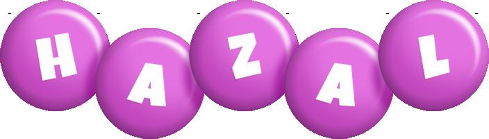 Hazal candy-purple logo