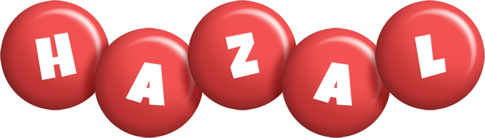 Hazal candy-red logo