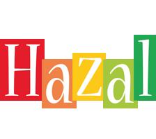 Hazal colors logo