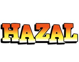 Hazal sunset logo