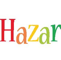 Hazar birthday logo