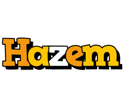 Hazem cartoon logo