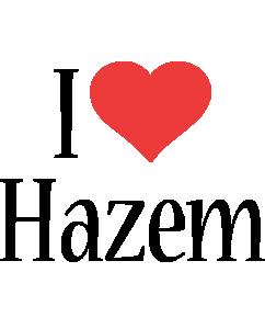 Hazem i-love logo
