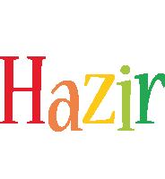 Hazir birthday logo