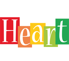 Heart colors logo
