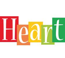 Heart colors logo