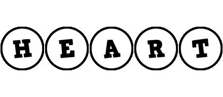 Heart handy logo