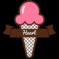 Heart premium logo