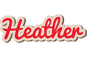 Heather chocolate logo
