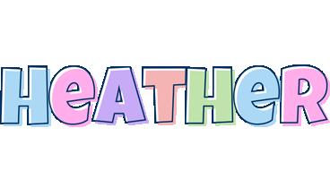 Heather pastel logo