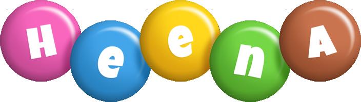 Heena candy logo