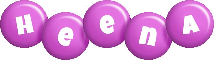 Heena candy-purple logo