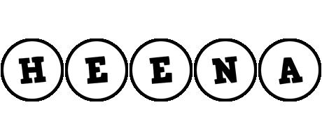 Heena handy logo