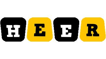 Heer boots logo