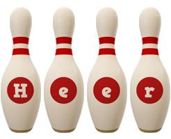 Heer bowling-pin logo